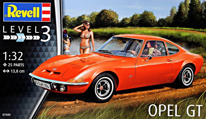 Автомобиль Opel GT Revell 07680