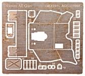 Фототравление: 45 мм советская пушка, 2 МВ (ICM)