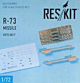 Смоляной набор: Управляемая ракета класса воздух-воздух R-73, 2 шт