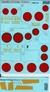 Декаль для самолета Yokosuka P1Y Ginga (Frances) Print Scale 72224 основная фотография