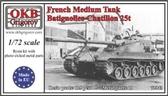 Французский 25т средний танк Batignolles-Chatillon