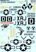 Декаль для самолета Boeing B-17 Flying Fortress
