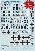 Декаль для самолета Bf110 ''Reconnaissance''