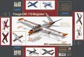 Учебно-боевой самолет Fouga CM.170 Magister