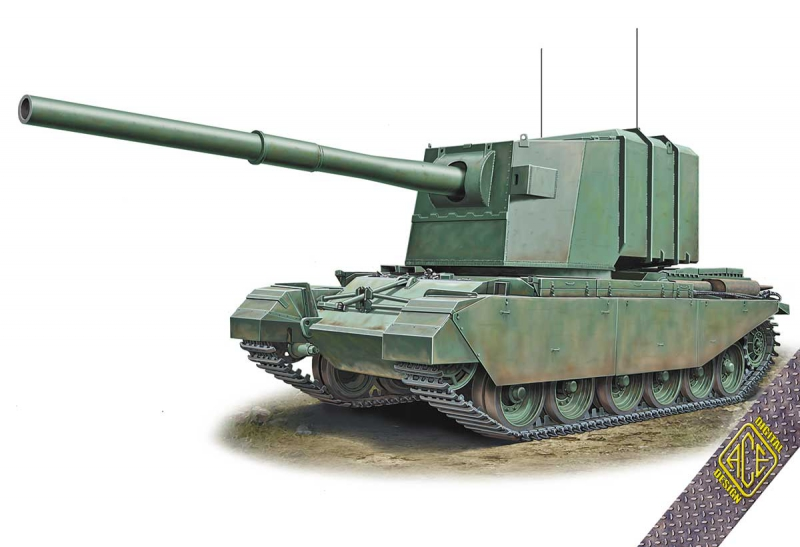 183 мм САУ FV4005 Ace 72429