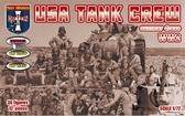 Американский танковый экипаж в летнем обмундировании, 2 МВ