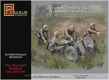 Немецкая пушка IG-18 с экипажем Pegasus 7510