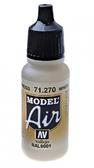 Краска акриловая ''Model Air'' белый с оттенком