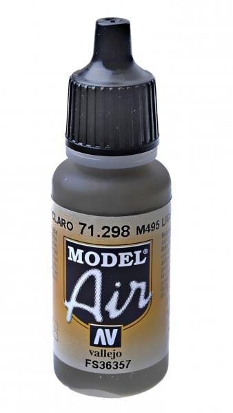 Краска акриловая ''Model Air'' M495 светло-серый M495 Vallejo 71298