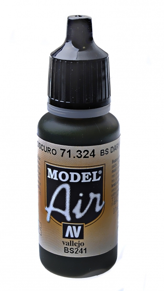 Краска акриловая ''Model Air'' BS темно-зеленый Vallejo 71324