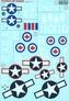 Декаль для самолета Grumman TBF Avenger Print Scale 48110 основная фотография