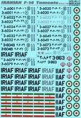 Декаль для самолета F-14 Tomcats, Иран