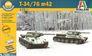 Танк T34/76 мод. 1942 г., 2 шт. Italeri 7523 основная фотография