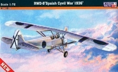 Учебно-тренировочный самолет RWD-8 ''Spanish Civil War 1936''