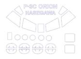 Маска для модели самолета P-3C ''Orion'' (Hasegawa)