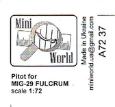 Трубка Пито для МиГ-29 ''Fulcrum''