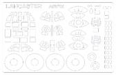 Маска для модели самолета Lancaster B.III (Special) the Dambusters / B.I(F.E.) B.III (Airfix)
