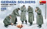 Немецкие солдаты, зима 1941-42 г.