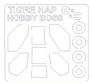 Маска для модели вертолета Tigre Hap (Hobby Boss) KV Models 72717 основная фотография