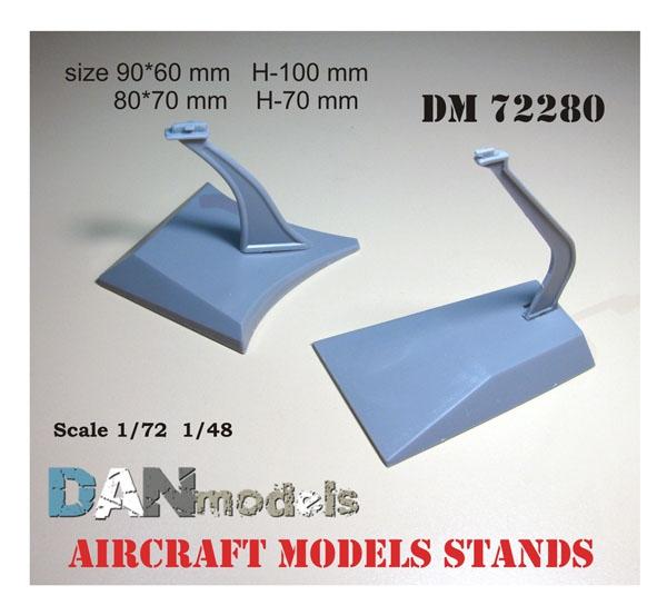 Подставка для моделей самолетов, 2 шт. DAN models 72280