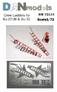 Фототравление: Стремянки для самолета Су-27УБ, Су-30 DAN models 72513 основная фотография