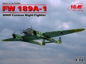 Германский ночной истребитель Fw 189A-1