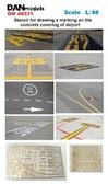 Фототравление: Трафарет для нанесения разметки на бетонке аэродрома
