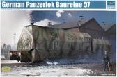 Немецкий бронированный локомотив ''Panzerlok BR57'' от Trumpeter