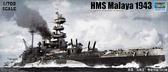 Корабль HMS Malaya, 1943 г. от Trumpeter