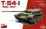 Советский средний танк T-54-1, образца 1947 г. MiniArt 37014 основная фотография