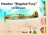 Истребитель Hawker ''Bagdad Fury'' (одноместный)