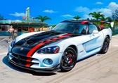 Автомобиль Dodge Viper SRT10 ACR, 1:25,