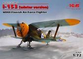 Истребитель И-153 ВВС Финляндии, ІІ МВ (зимняя модификация)