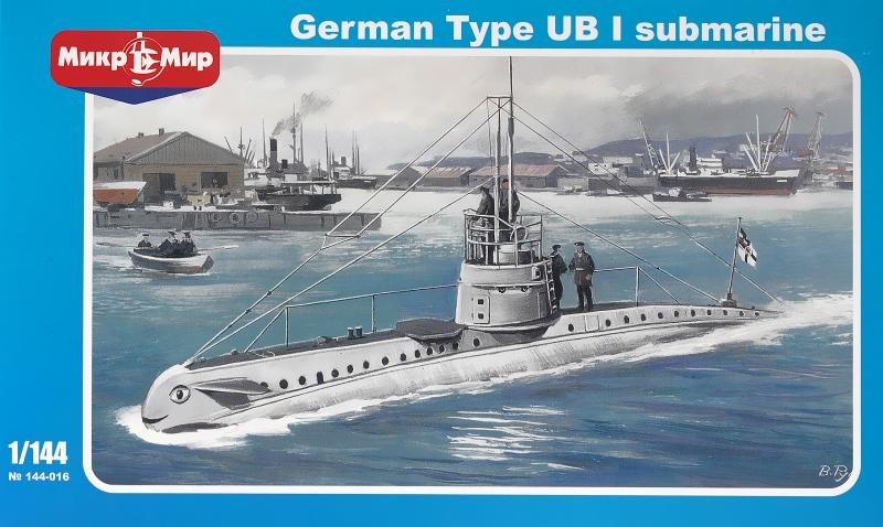 Немецкая подводная лодка типа UB-1 Micro-Mir 144016