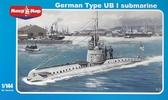 Немецкая подводная лодка типа UB-1