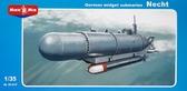 Немецкая сверхмалая подводная лодка ''Necht''