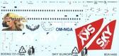 Декаль для самолета Boeing 737-700 ''Sky Europe''