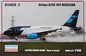 Пассажирский авиалайнер Airbus A318-100, Mexicana