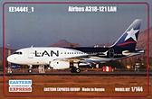Пассажирский авиалайнер Airbus Airbus A318-121, LAN