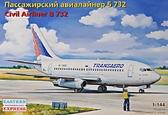 Пассажирский авиалайнер Boeing 732 ''Transaero''