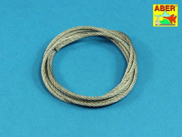 Буксировочные тросы из нержавеющей стали, длина 125 см Aber 25