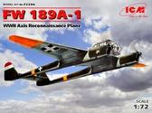 Немецкий самолет-разведчик Fw 189A-1 стран Оси, ІІ МВ
