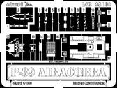 Фототравление 1/72 P-39Q Аэрокобра (рекомендовано для Academy)