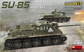 Советская САУ СУ-85 образца 1944 г., ранних выпусков (набор с полным интерьером)