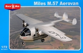 Транспортный самолет Miles M.57 Aerovan