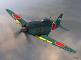 Истребитель J2M2 Raiden model 11, поздний
