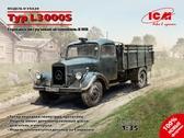 Германский грузовой автомобиль Typ L3000S, 2 МВ