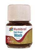 Смывка эмалевая : Темно-коричневая от Humbrol