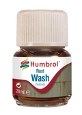 Смывка эмалевая : Ржавчина от Humbrol