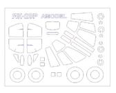 Маска для модели самолета Як-28Р (Amodel)